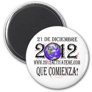 2012 españoles imán de nevera