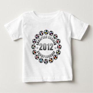 2012 European Soccer Championship Baby T-Shirt