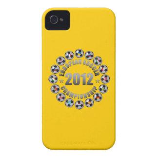 2012 European Soccer Championship iPhone 4 Case