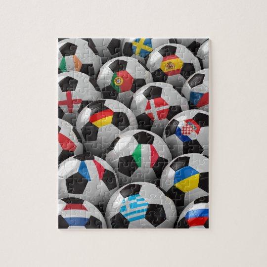 2012 European Soccer Championship Jigsaw Puzzle