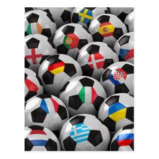 2012 European Soccer Championship Postcard