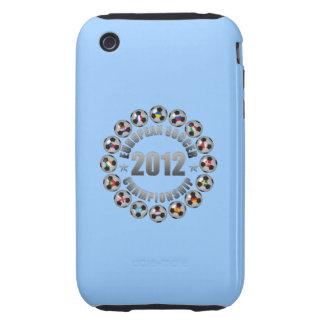 2012 European Soccer Championship Tough iPhone 3 Case