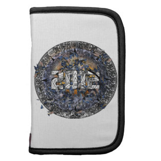 2012 Exploding Earth w/Aztec Calendar Folio Planners