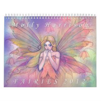 2012 Fairy Calendar by Molly Harrison