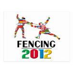 2012: Fencing Postcard