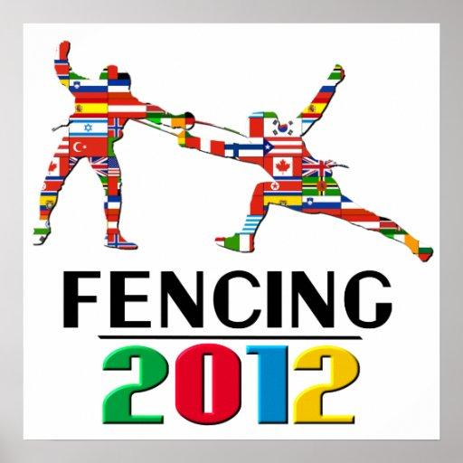 2012: Fencing Print