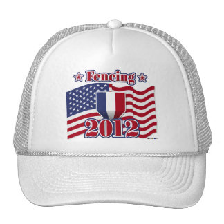 2012 Fencing Trucker Hat