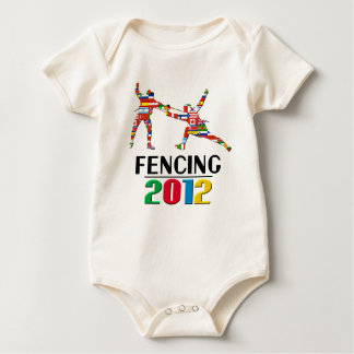 2012: Fencing Baby Bodysuit