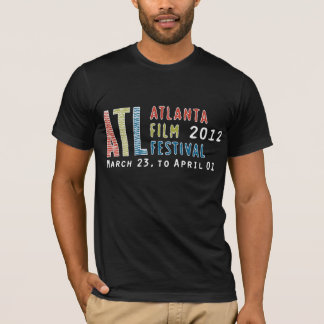 2012 Fest de la película de Atl - camiseta negra