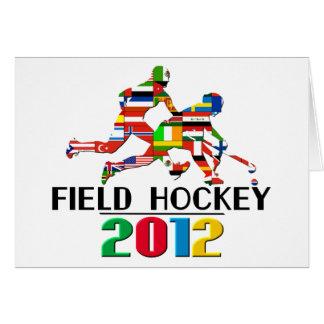 2012: Field Hockey Card