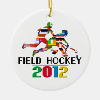 2012 Field Hockey Ornament