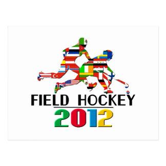 2012: Field Hockey Postcard