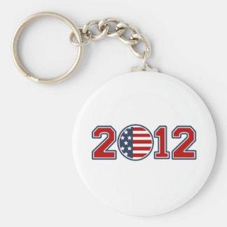 2012 Flag USA Games Key Chains