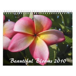 2012 floraciones hermosas calendario