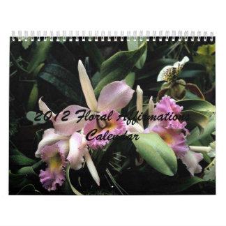 2012 Floral Affirmation Calendar