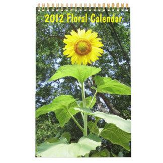 2012 - Floral Calendar