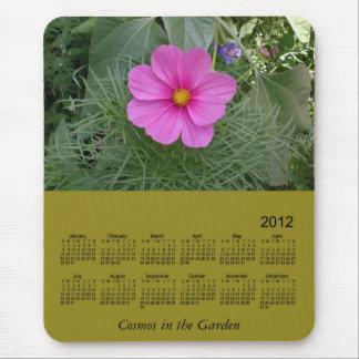 2012 Floral Calendar Mouse Pad
