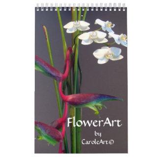 2012 Flower Art Calendar