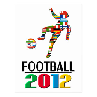 2012: Football Postcard