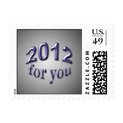 2012 for You Postage Stamp