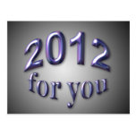 2012 for You Postcard