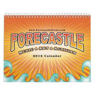 2012 Forecastle Wall Calendar