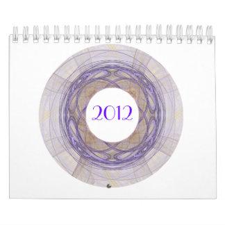 2012 Fractal Art Frame Calendar