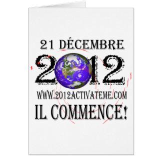 2012 franceses felicitación