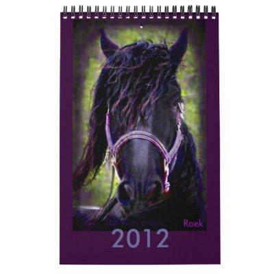2012 Friesian Roek's Calendar