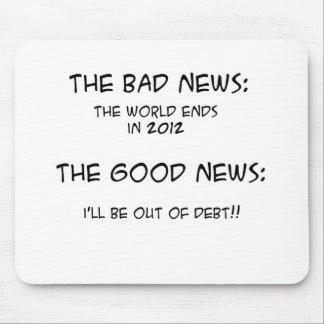 2012 fuera de deuda tapete de raton