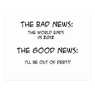 2012 fuera de deuda tarjetas postales
