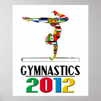 2012: Gimnasia Posters