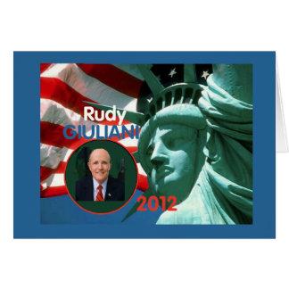 2012 Giuliani Card