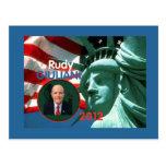 2012 Giuliani Postcard