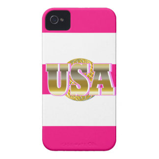 2012 Gold USA Womens Sports Pink iPhone Case Gift Case-Mate iPhone 4 Cases