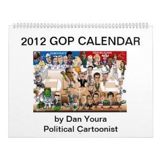 2012 GOP Calendar by Dan Youra