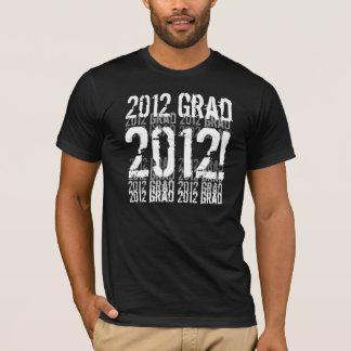 2012 Graduate - Trendy Grunge Lettering T-Shirt
