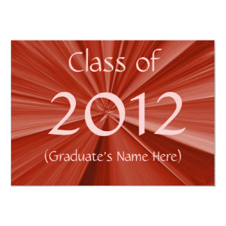 2012 Graduation Announcement
