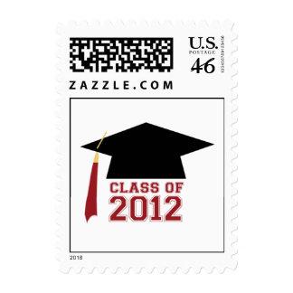 2012 Graduation CAP Postage Stamp
