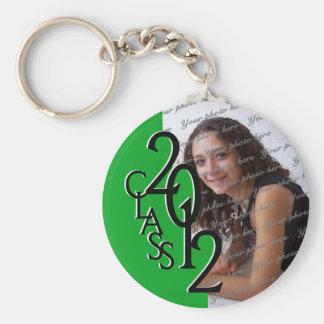 2012 Graduation Keepsake Green Keychain