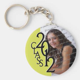 2012 Graduation Keepsake Yellow Keychain
