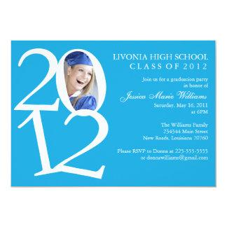 2012 Graduation Party 5x7 Paper Invitation Card