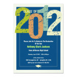 2012 Graduation Party Invitation