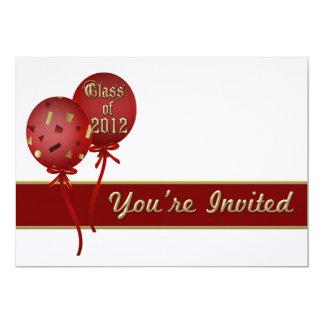 2012 Graduation Party Invitations