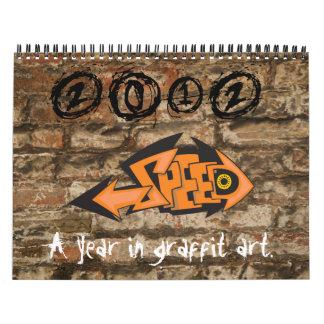 2012 Graffiti Art Calendar