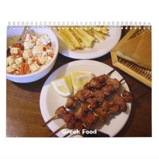 2012 Greek Food Calendar