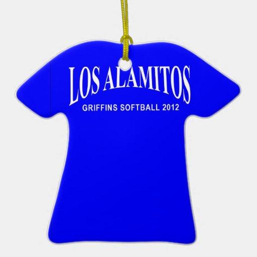 2012 Griffins Softball Tshirt Ornament
