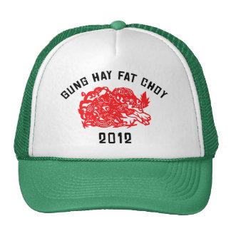 2012 Gung Hay Fat Choy Gift Mesh Hats