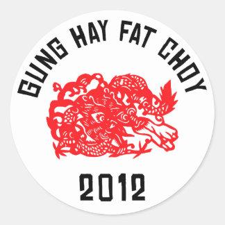 2012 Gung Hay Fat Choy Stickers