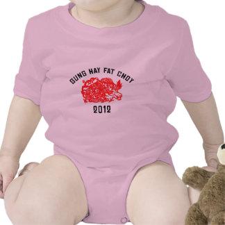 2012 Gung Hay Fat Choy T-Shirt Bodysuit